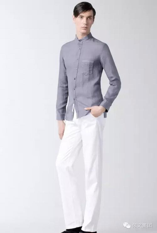 表白就这么穿 依文衬衫搭配让你成为男神