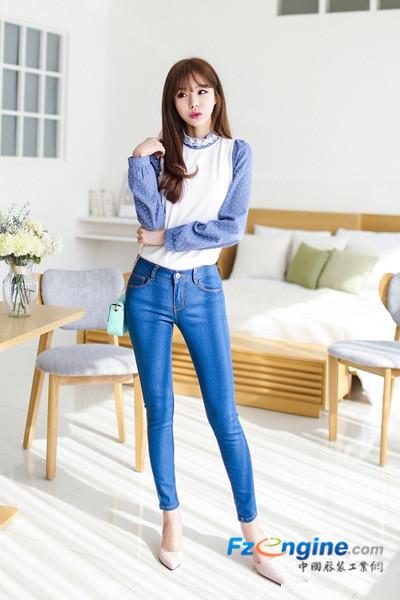 精美衬衫搭配长裤 清新可爱超显瘦_时尚频道_服装工业