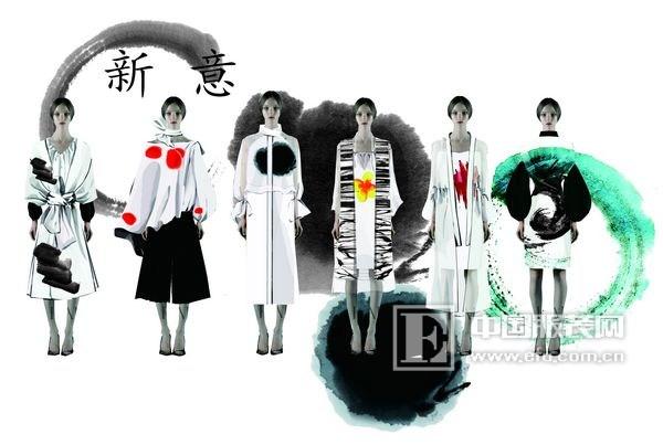 在2015第三届中国服装设计师创业大赛中,她沿用这个思路,但考虑到市场