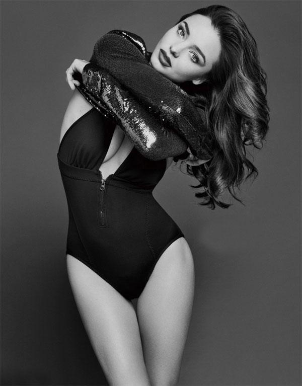 米兰达可儿最新写真 热辣身材活力性感