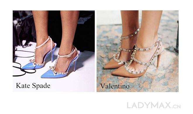Kate Spade新款高跟鞋涉嫌抄袭Valentino铆钉高跟鞋0.jpg