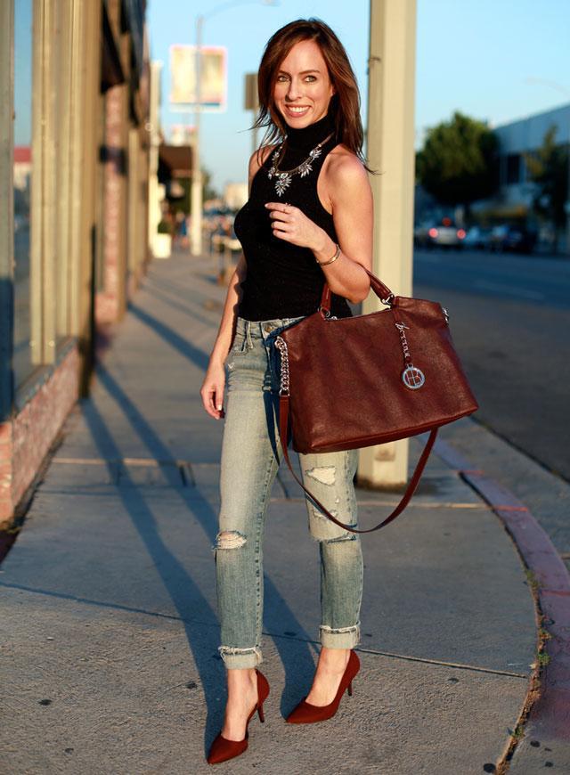 今天穿什么:牛仔裤配高跟鞋 打造唐嫣一样的筷子腿12.jpg