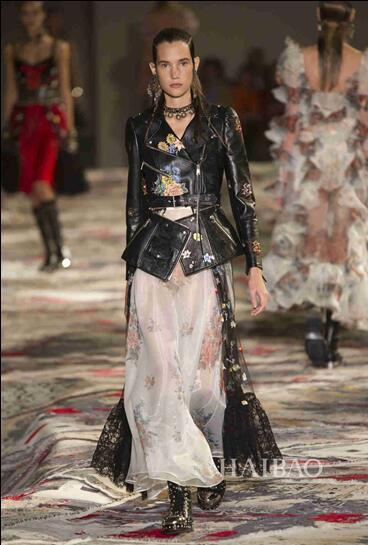 Alexander McQueen 2017春夏巴黎时装秀(图22)