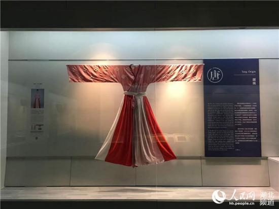 武汉博物馆举办传统服饰展 复原汉唐遗风6.jpg