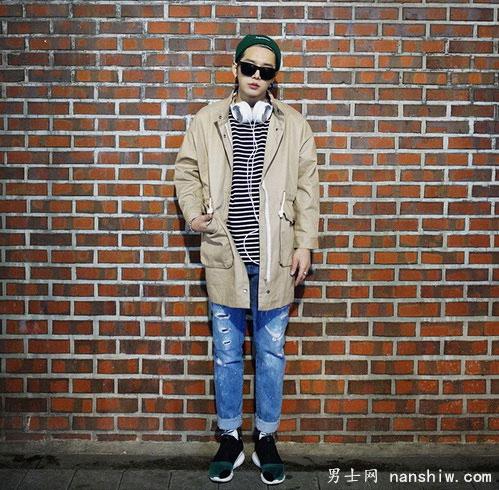 潮男流行搭配 经典韩国风男士街头元素 1.jpg