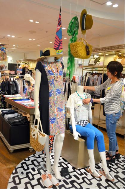 服饰业不景气 日本大型百货店注力自主女装品牌1.png