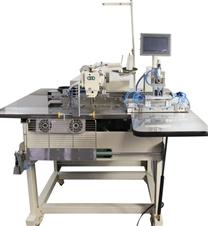 自动直角袋贴缝纫机