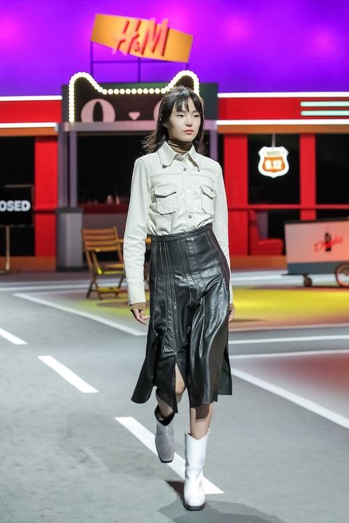 H&M 在白小姐中特网首次走秀 走的是高端线的秋冬款 1.jpg